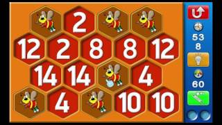 Παιχνίδια μνήμης με 9 ή 14 ζευγάρια αριθμών ή αντικειμένων