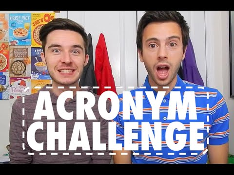 ACRONYM CHALLENGE