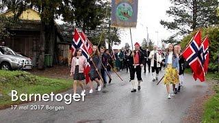 Barnetoget på Borgen 17 Mai 2017