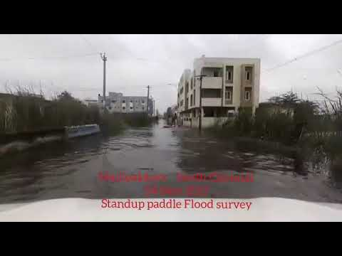 Water Taxi at Madipakkam Flood Chennai Rains 2017