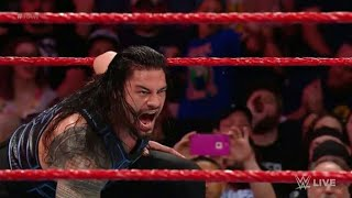 Roman Reigns vs Kevin Owens Full Match on Raw 21-May-2018