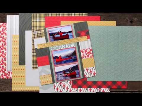 O Canada Paper Pack | Creative Memories Australia