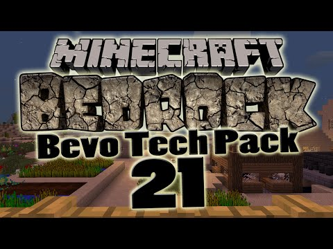 Minecraft Bedrock: Bevo Tech Pack | #21 | Trådlöst ME system