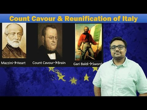 WHRd/P3: Reunification of Italy & Count Cavour (World History for UPSC Mains)