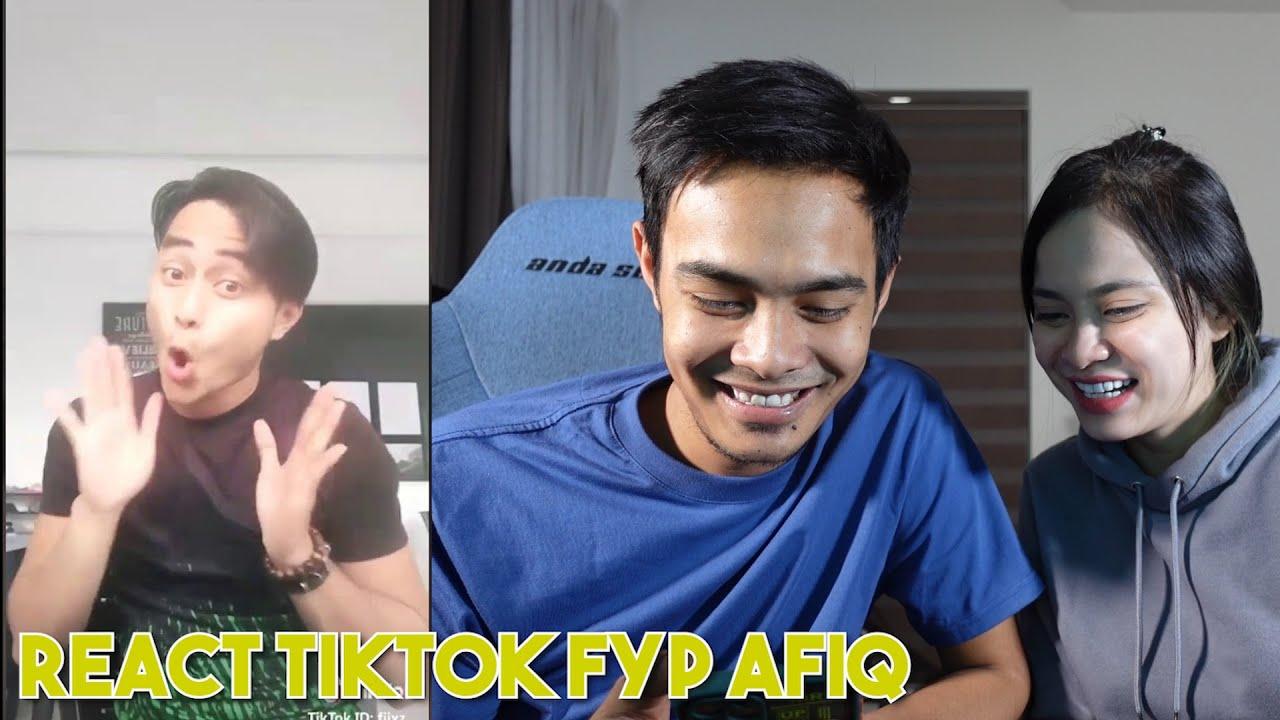 React Random Tiktok FYP Afeeq !!! Macam Tak Percaya..