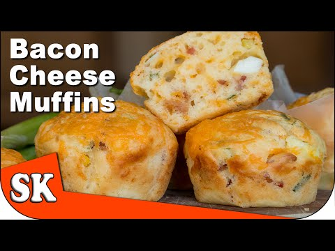 Bacon, Cheese And Egg Savoury Muffins 🐷 🍳 🧀