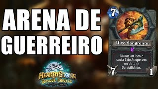 ARENA COMPLETA DE GUERREIRO BOSQUE DAS BRUXAS ( Warrior Arena The Witchwood ) | Hearthstone