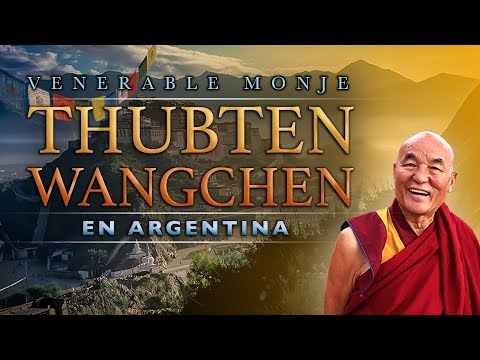 El Venerable Monje Tibetano Thubten Wangchen en la Escuela Aztlan Argentina