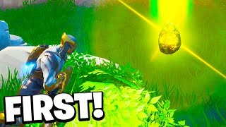 "How To Get ""THANOS INFINITY STONE"" First In Fortnite ENDGAME!"