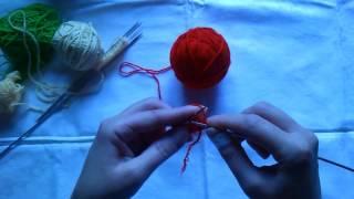 вяжем накид на спицах(Учимся делать и вязать накид на спицах., 2016-10-03T12:55:36.000Z)