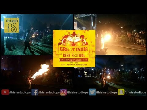 Great India Beer Festival 2017 Vlog