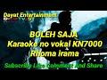 Gambar cover Boleh saja Rhoma irama karaoke KN7000