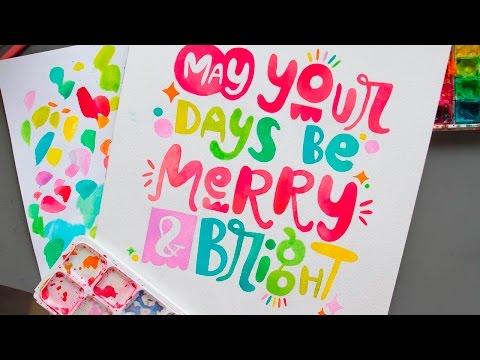 Merry & Bright Digitizing Process Video