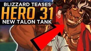 Overwatch: Blizzard Teases NEW Hero 31 - Talon Tank Mauga