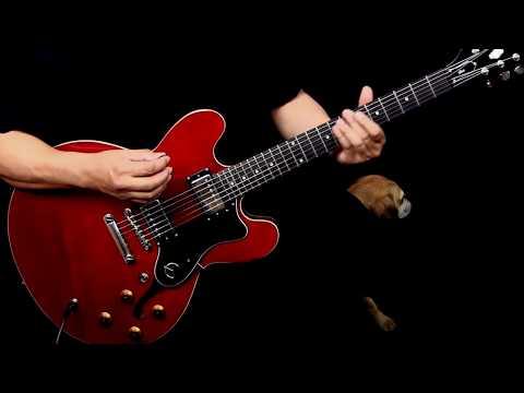The Epiphone Dot ES-335 Guitar Demo