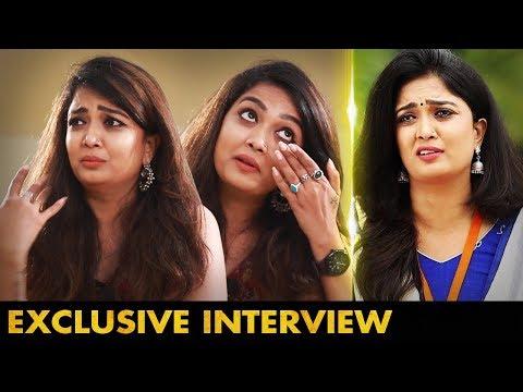 வீட்டிற்கு போய் தனியாக அழுதேன் | Singer, Actress Soundarya Nandakumar Interview |Pagal Nilavu Serial