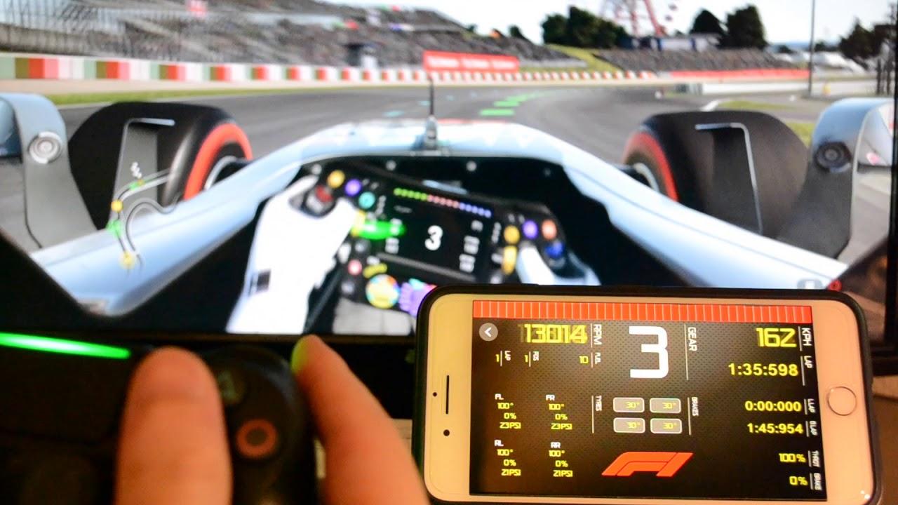 Sim Racing Dashboard – iOS App – DEHIXLAB