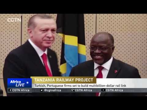 Tanzania chooses Turkish, Portuguese firms to build multi-billion-dollar rail link