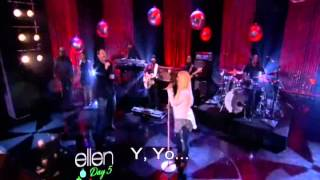 Christina Aguilera Ft Blake Shelton - Justa a Fool (Subitutlos en español en vivo)