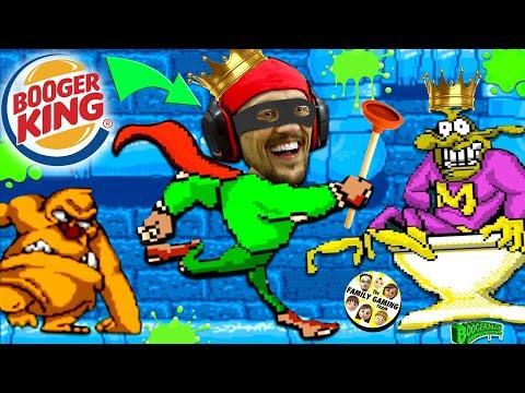 BOOGER KING!  FGTEEV's Pick & Flick Childhood Adventure Game
