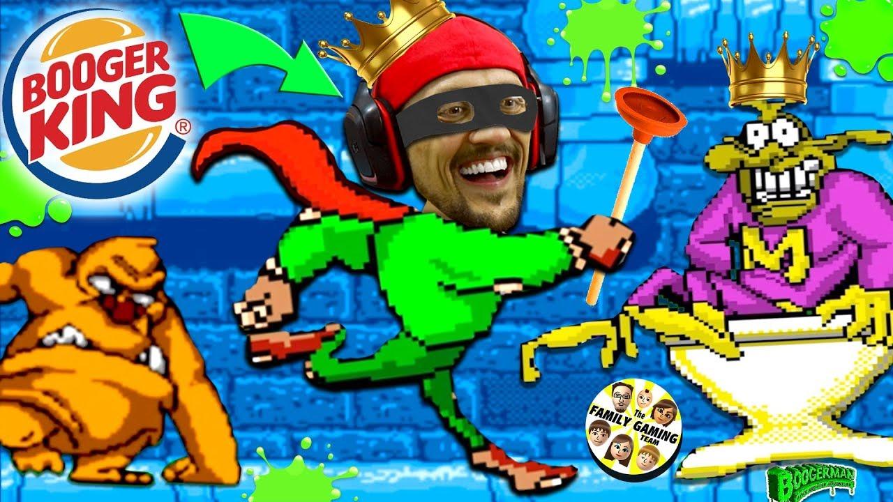 BOOGER KING!  FGTEEVs Pick & Flick Childhood Adventure Game