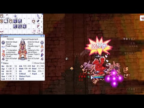 Ragnarok Online MSP [MVP] Grand Gross Paladin Vs Osiris (Valhalla Server)
