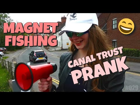 Magnet Fishing! Canal Trust Prank and Collab 2!