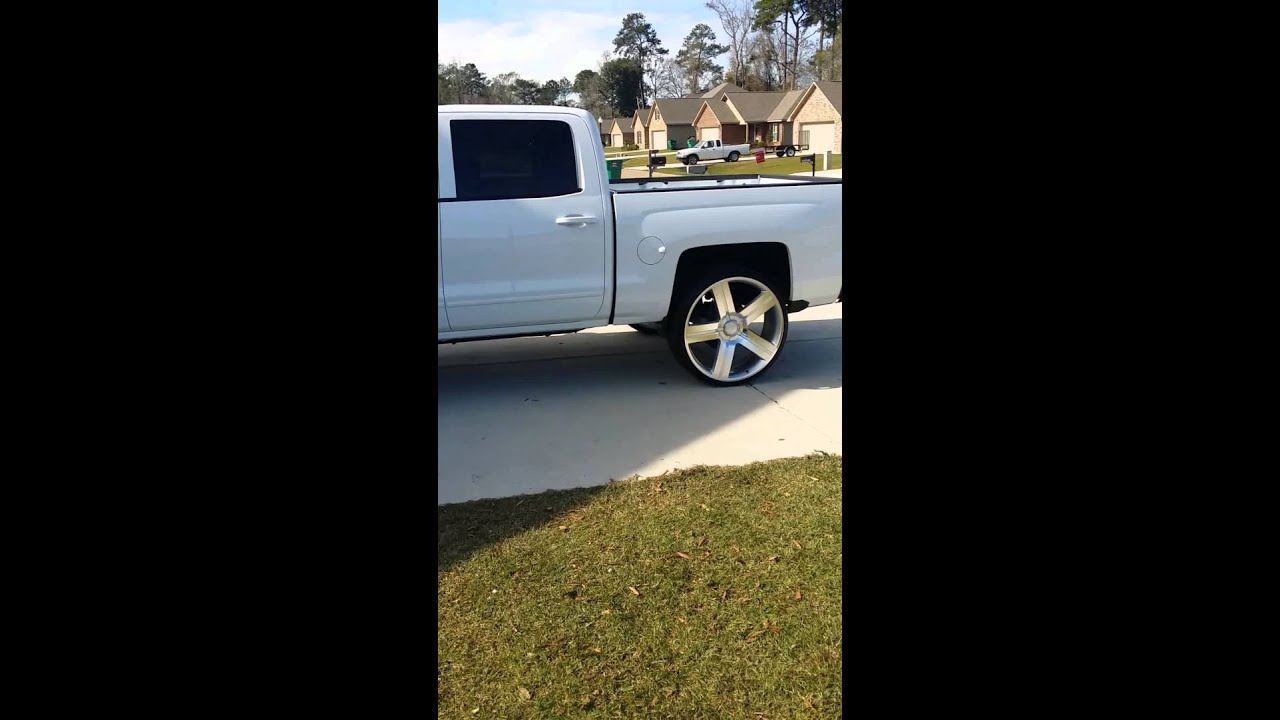 Texas Edition Chevy >> 2015 Silverado on 28s - YouTube