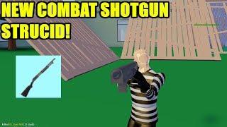 *NUEVO* SHOTGUN COMBAT! *INSANE* (Roblox Strucid)