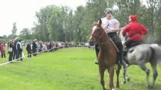 Apolinarski Group kaskaderzy na koniach Wronki 03.06.2012.mp4
