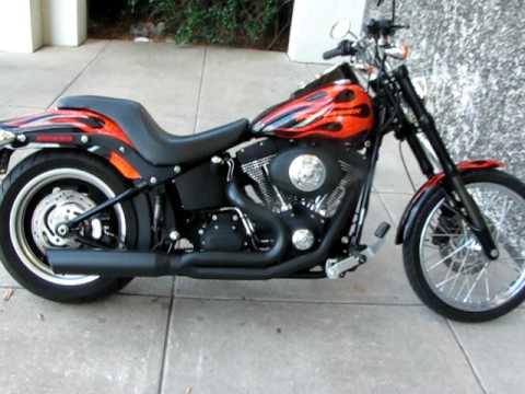 Harley Davidson Black Inverted Forks