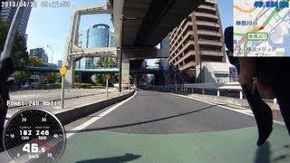 ロードバイクで都心横断(市川・船橋~横浜・保土ヶ谷)