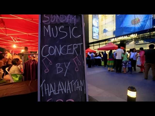Thalavattam performs live at VR Green, World Environment Weekend