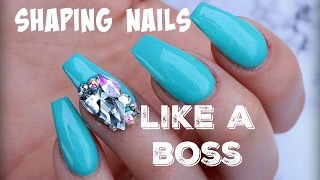 COFFIN NAILS | HOW TO