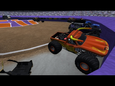 BeamNG.drive Monster Jam: Full Event @ BeamNG Center 8 Trucks