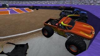 BeamNG.drive Monster Jam: Full Event @ BeamNG Center 8 Trucks