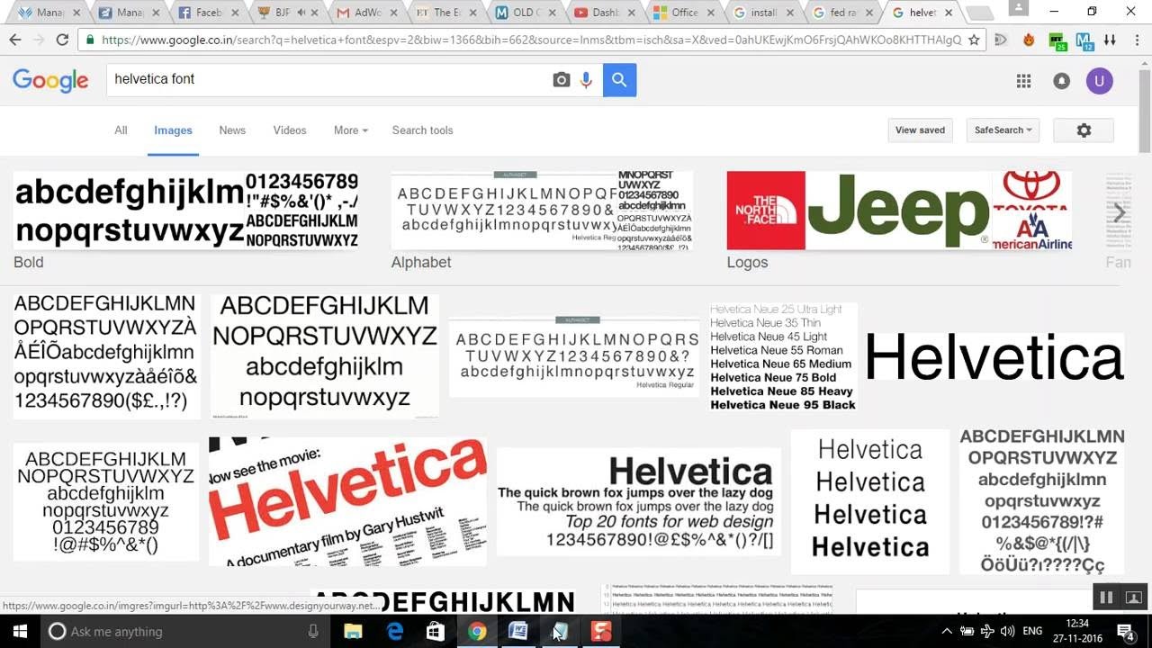 Solved: I need the Helvetica font for windows 10 - …
