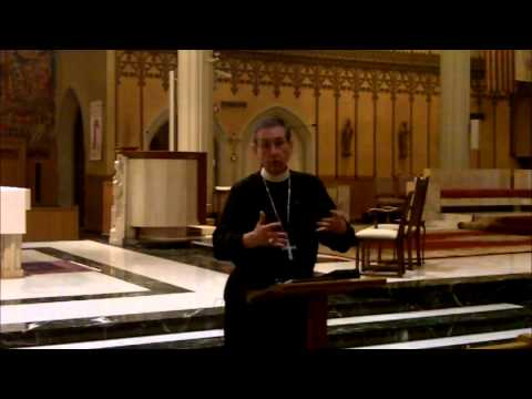 Bishop's Lunchtime Lecture on Synods & Priestly Formation (Part 1) - April 16, 2014