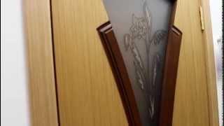 Владимирская дверь Флора дуб со теклом(, 2014-08-29T13:51:06.000Z)