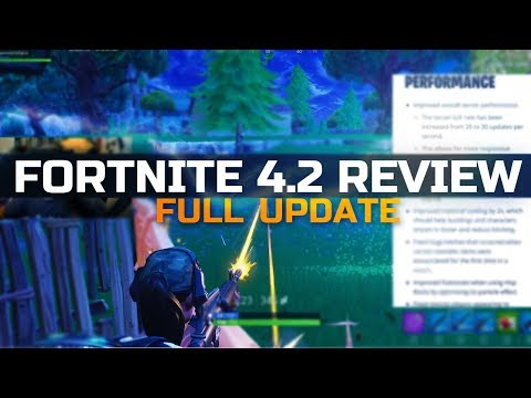 Fortnite 4.2 Patch Notes Full Review! New Famas - New Sounds!