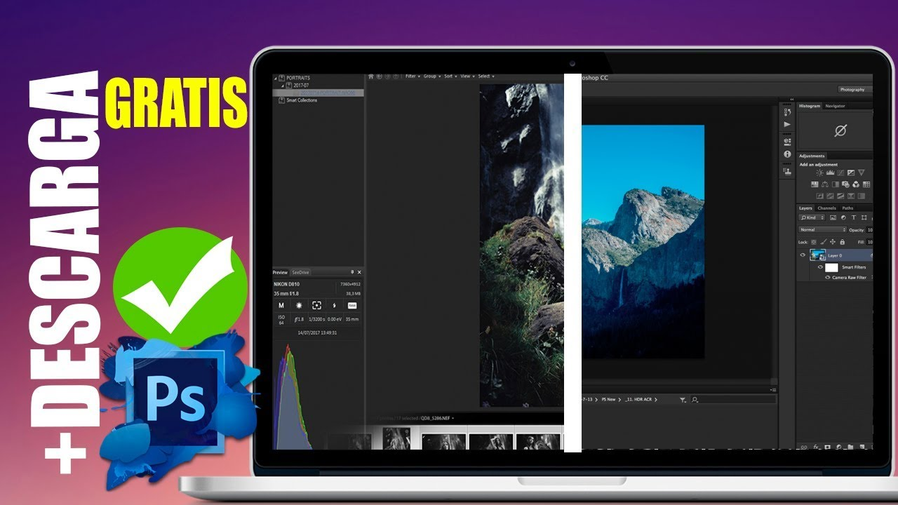 Mejores Programas Editar Fotos En Pc Gratis 2019 Como Photoshop Lightroom Descarga Youtube