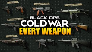 Every Weapon In Call of Duty Black Ops Cold War (All Guns Gameplay)