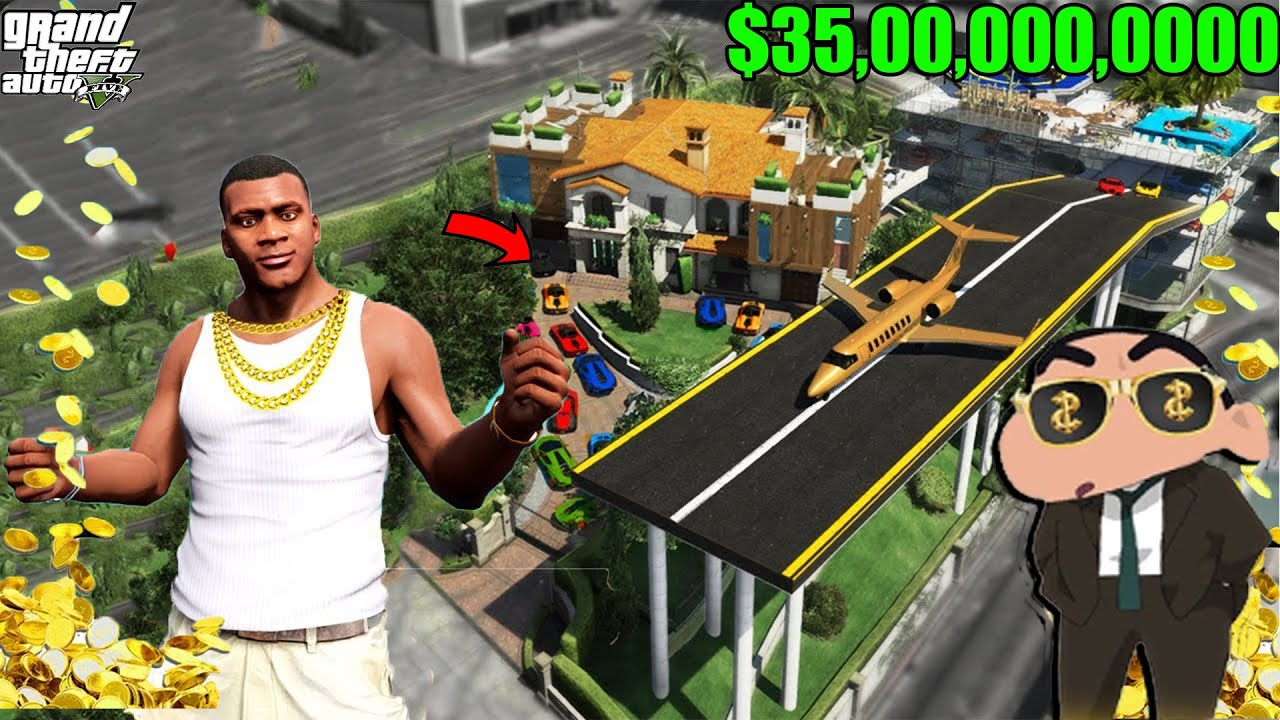 SHINCHAN BECOME RICHEST PRESIDENT IN GTA5 ll FRANKLIN BECOME POOR ll Varun the gamer 2.0