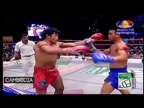 Bayon Khmer boxing: Keo Rumchong vs Vung Noy #2 REMATCH (67kg) 12.06.2013