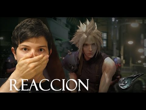 Final Fantasy VII Remake Gameplay Trailer Reaccion
