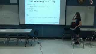 Web Dev Seminar (4/11): HTML