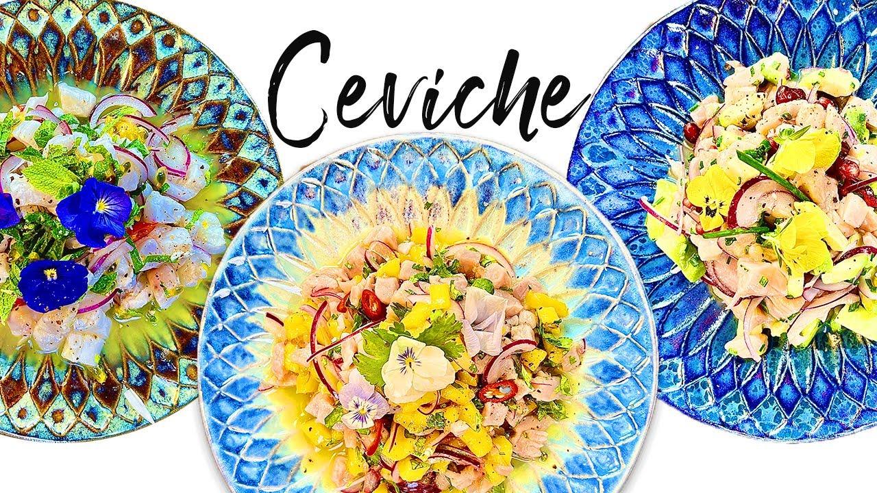 Ceviche (3 idées faciles)