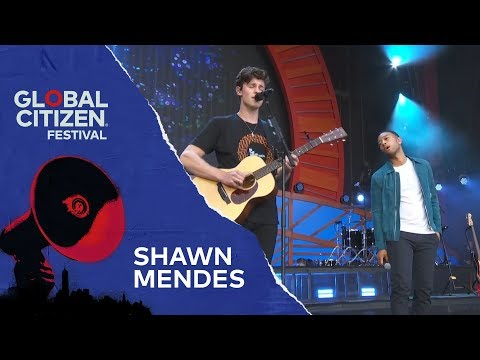 Kim Faris  - Shawn Mendes & John Legend Perform Together