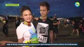 Ночной забег по Москве  ведущая телеканала «МИР» против Бэтмена   МИР24