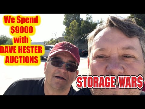 We Spend $9000 At Dave Hester Abandoned Storage Wars Auction Rene Casey Nezhoda WHAT DID WE GET